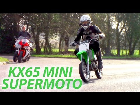 Mini Supermoto Action - 8000 Abonnenten Special - Kawasaki KX 65 Supermoto