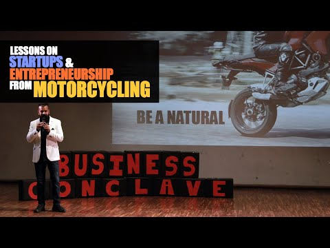 Lessons On Startups And Entrepreneurship From Motorcycling.