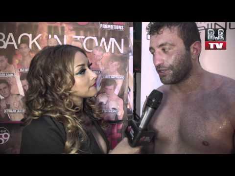Boxing Evolution TV Irene Choudhury Interviews Haidar Sadik