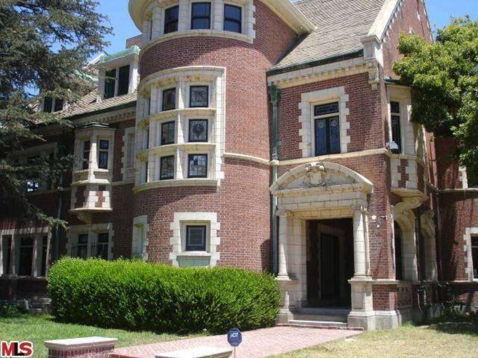 american horror story historic estate tour la youtube