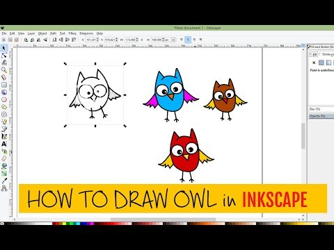 how-to-make-vector-owl-in-inkscape-video-tutorial
