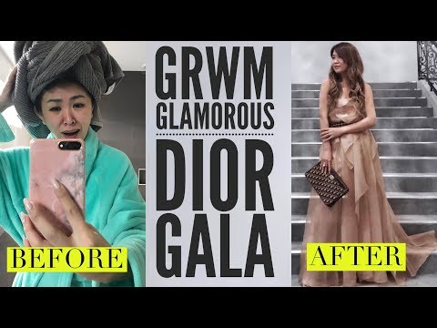 VLOG! GET READY WITH ME | COME TO THE DIOR GALA & EXHIBITION WITH ME!