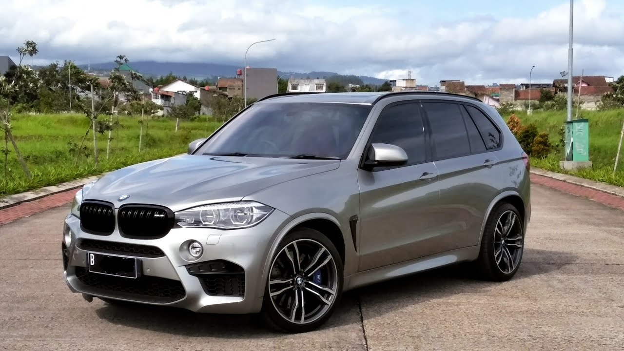 Bmw X5 M F85 2017 Start Up Review Indonesia