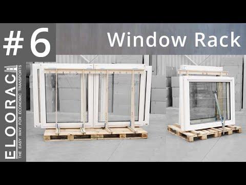 transportgestell f r fenster glas haust ren oder alles was aufrecht transportiert wird youtube