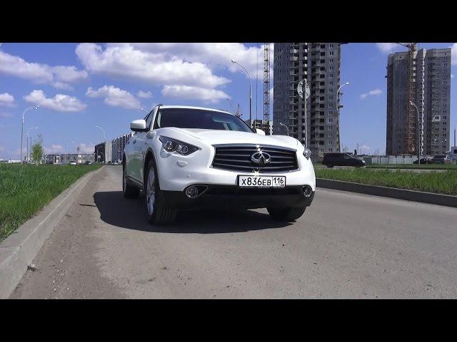 Тест-Драйв 2016 Infiniti QX70. Шустрый Финик.