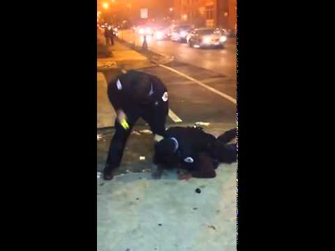 Alleged Chicago police brutality, excessive force