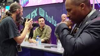The Orville Cast Signing at San Diego Comic Con 2019