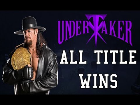 All Of Undertaker Championship Wins In WWE/WWF