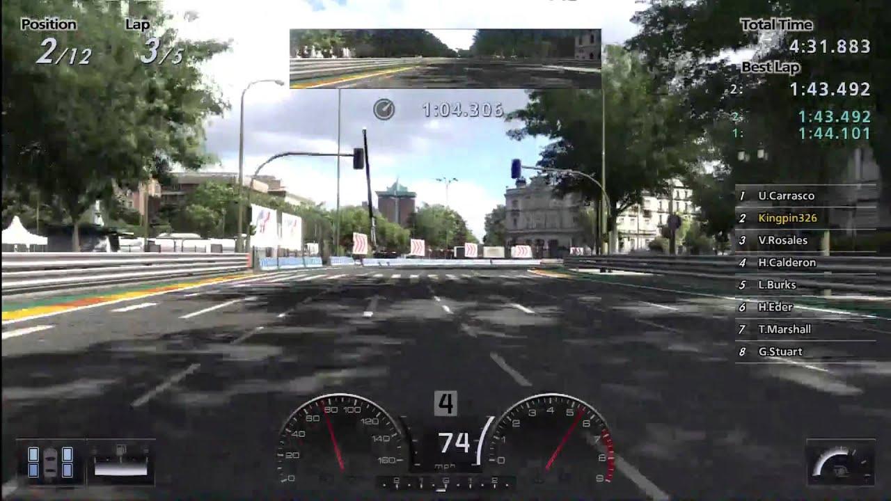 Circuito De Madrid Gran Turismo 5 : Gran turismo seasonal event ford focus st circuito