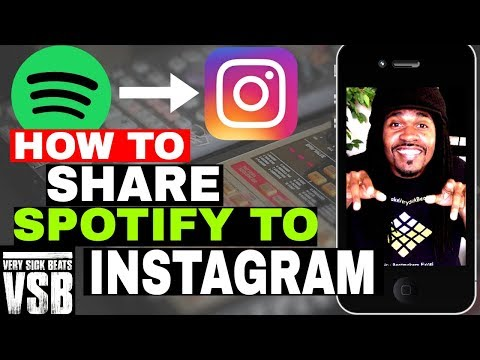 How To Add Spotify to Instagram Stories
