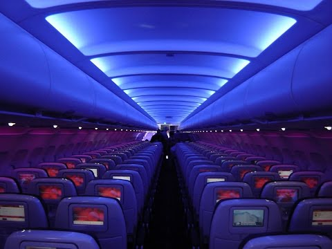 VIRGIN AMERICA   ECONOMY CLASS   SAN FRANCISCO-WASHINGTON DULLES   SFO-IAD   AIRBUS A320