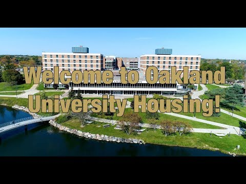 Welcome To Oakland University Housing 2019