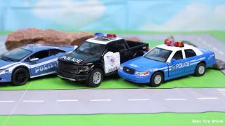 Мультик про машинки - 194 серия:  Полицейская погоня, Гоночная машина, Трансформер Бамблби