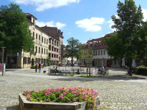 Cities of Germany ,Erlangen, buildings, park ,leisur­e, tourism, history,women