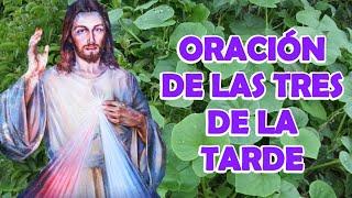 Oración De Las Tres De La Tarde (Divina Misericordia)