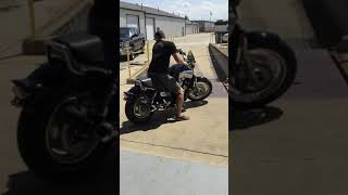 VMAX with Voodoo dual megaphone test ride