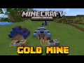 Minecraft PE - Cara membuat Gold Mine COC