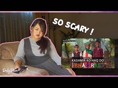 Indonesian Girl Reaction to Kashmir ko Haqq do Bharat | Shehzad Roy (ISPR Official Video)