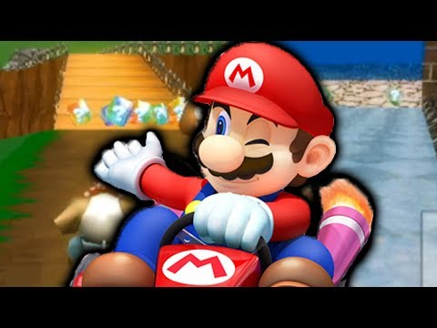 Mario Kart Wii but with Mario 64 Levels!