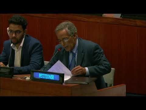 Ahmed Boukhari Statement on Western Sahara at 4th Committee (Decolonization Committee)