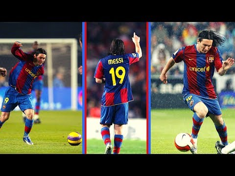 Lionel Messi • FC Barcelona • Dribbling Skills 2006/2007 • La Liga