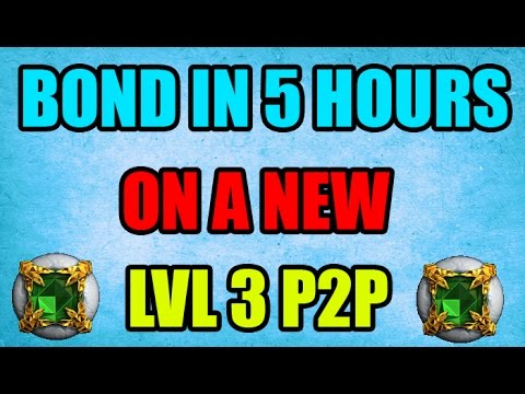 Bond In 5 Hours On A New Member Account OSRS : 2007scape
