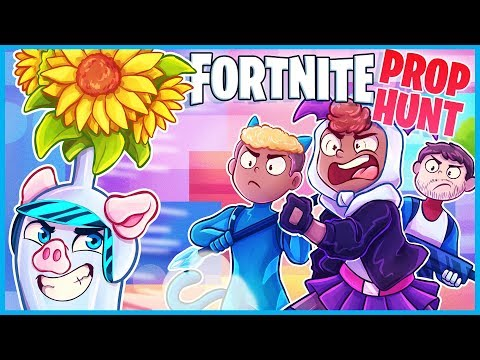 They added PROP HUNT to Fortnite...it's AWESOME!