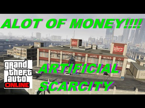 GTA V Online ★(ALOT OF CASH MONEY)★ (GTA 5 Online Artificial Scarcity Mission) Hard Difficulty SOLO