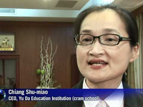 Cram schools boom in competitive Taiwan