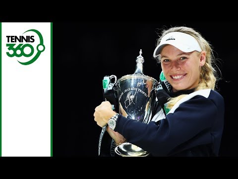 Caroline Wozniacki beats Venus Williams to win the WTA Finals - Her 2017 season in review