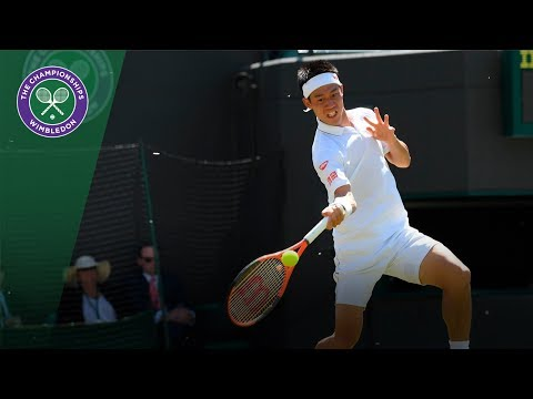 Kei Nishikori vs Sergiy Stakhovsky highlights - Wimbledon 2017 second round