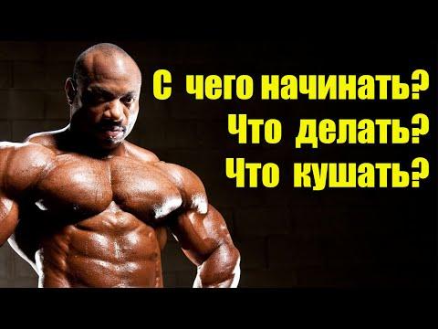 БОДИБИЛДИНГ для НОВИЧКА / инструкция первой тренировки.