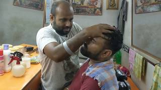 Head Massage | Back Muscles Massage With Elbow | Neck Cracking By Reiki Master |