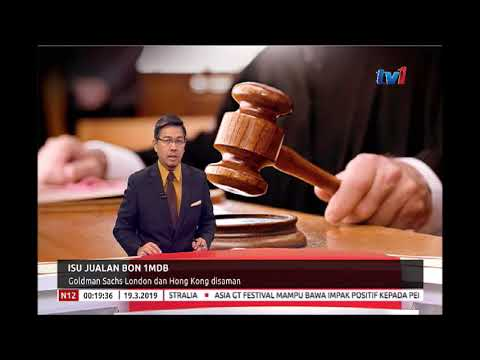 ISU JUALAN BON 1MDB - GOLDMAN SACHS LONDON DAN HONG KONG DISAMAN