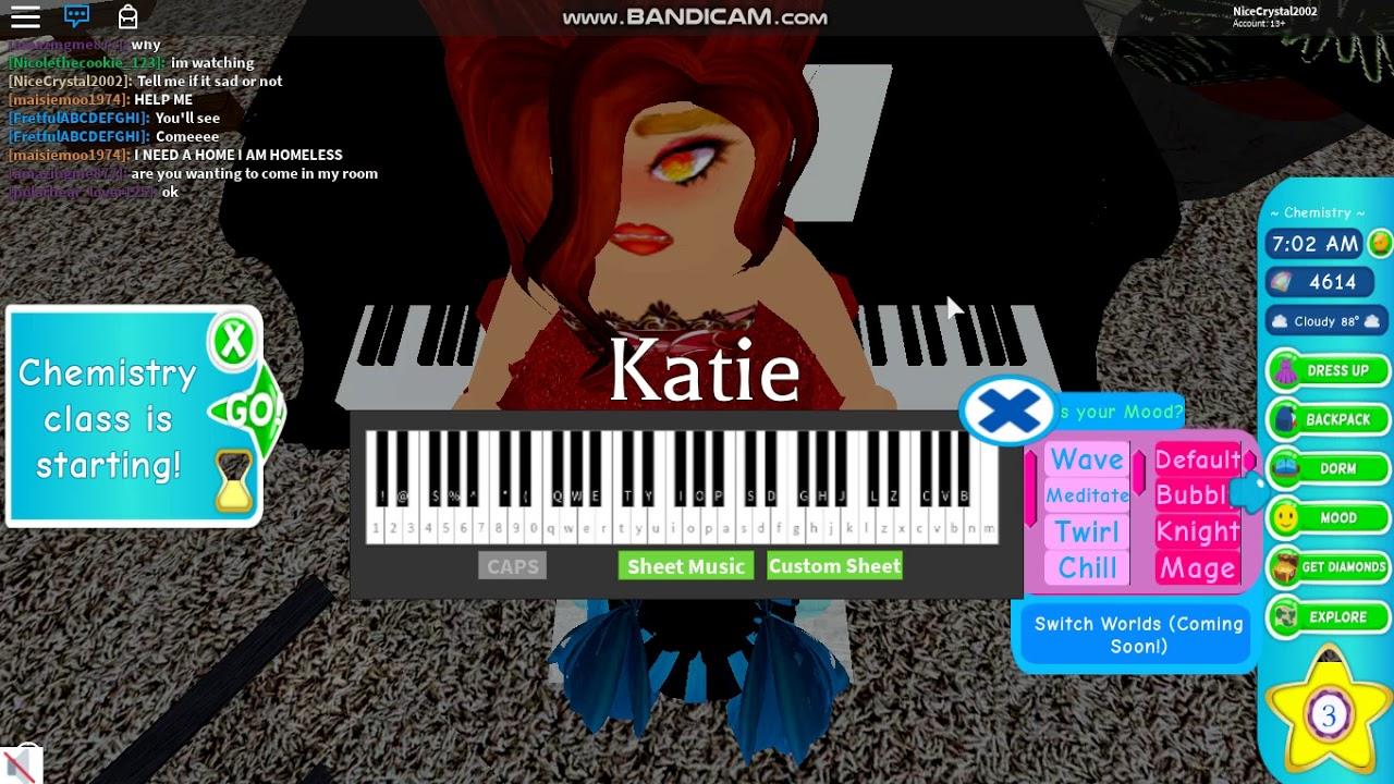 Sad Piano Song Royale High Roblox Youtube