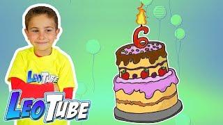Fiesta de Cumpleaños con mis Amigos Leo cumple 6 años