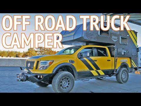 Ultimate 4x4 Off Road Truck Camper | Lance Camper Concept