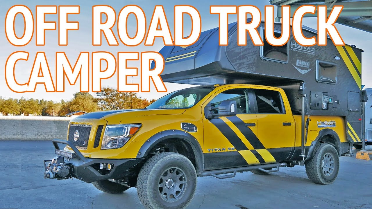 Ultimate 4x4 Off Road Truck Camper