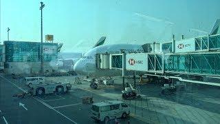 [4K] TRIPREPORT | Dubai to Dusseldorf | Airbus 380-800 | Emirates Economy