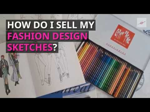 How To Sell Your Fashion Design Sketches Youtube