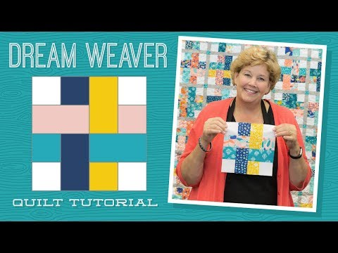 Make A Dream Weaver Quilt With Jenny Doan Of Missouri Star! (Video Tutorial)