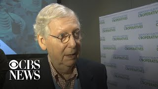Senate Majority Leader Mitch McConnell thinks impeachment trial will go into 2020