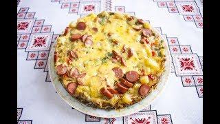 ФРИТТАТА рецепт с овощами и сосисками❤ФРІТТАТА рецепт з овочами та сосисками