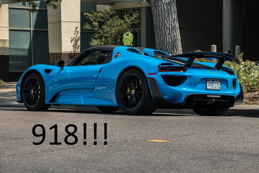 mexico blue porsche 918 spyder in denver co youtube. Black Bedroom Furniture Sets. Home Design Ideas