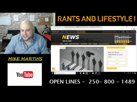 RANTS AND LIFESTYLE ! - OPEN LINES