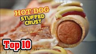 Top 10 GROSSEST Food Combinations