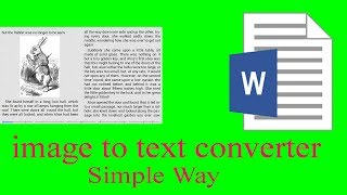 How convert Image to text  with google docs (100% image to Text)