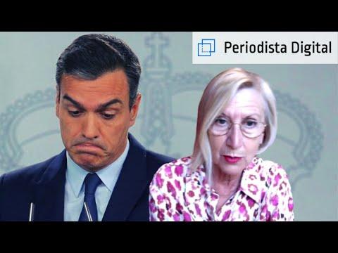 """Rosa Díez: """"Tenemos al frente del Gobierno a un psicópata impresentable como Sánchez"""""""