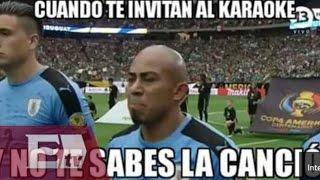Los mejores memes de la derrota de Uruguay contra México