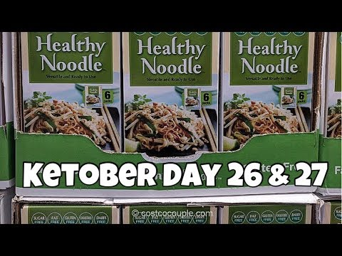 Ketober Day 26 27 Trying The 1 Carb Noodles From Costco He Did